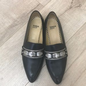 Toga pulla black loafer EU 38